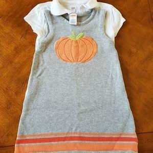 Gymboree Pumpkin Sweater Dress